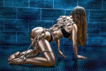 Tied up girl von Rod Meier