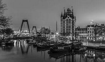 De Oudehaven en het Witte Huis in Rotterdam van