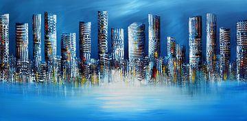 Blue City von Gena Theheartofart