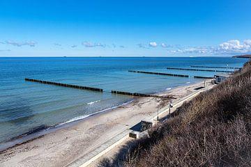 Strand an der Küste der Ostsee in Nienhagen von Rico Ködder