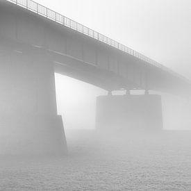 A misty bridge van Max ter Burg Fotografie