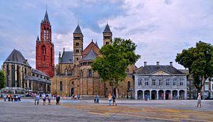 Maastricht-Vrijthof von Leo Huijzer