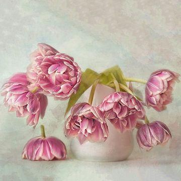 Tulpen Verhaal #1 van Lizzy Pe