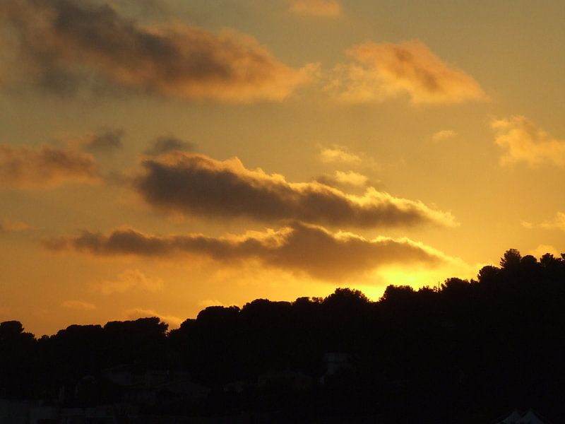 Frankrijk - Zonsondergang van Kevin van Lieshout