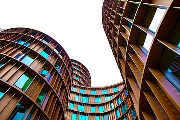 Gebouw in Kopenhagen met prachtige vormen van Anne Ponsen