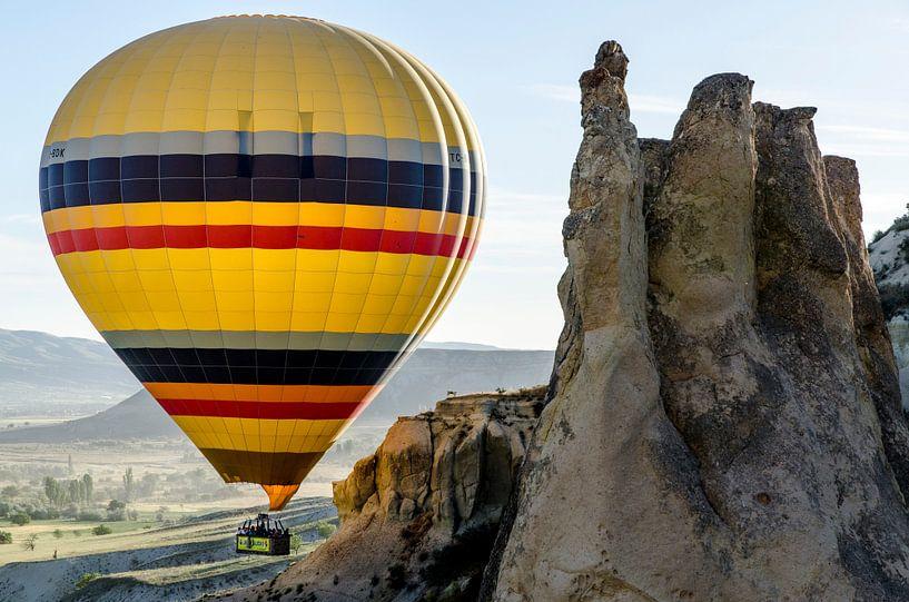 Luchtballon en Turkse Grand Canyon van Tim Wong