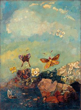 Butterflies, Odilon Redon