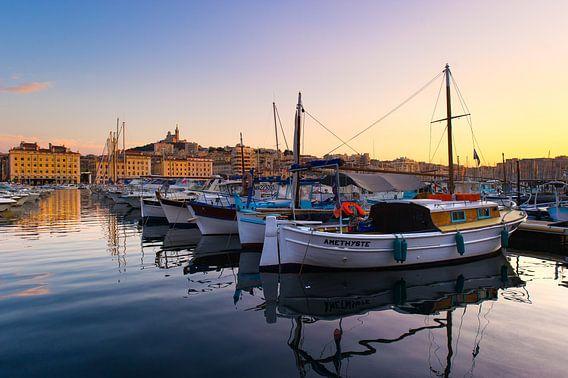 Vieux port, Marseille van Vincent Xeridat