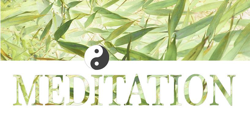 Meditation - more than letters van Heidemarie Andrea Sattler