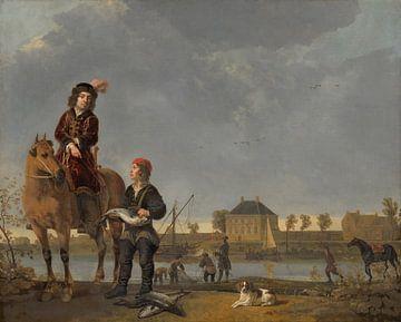 Reiterporträt von Pieter de Roovere, Aelbert Cuyp