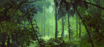 Kijken naar de bossen van Angel Estevez