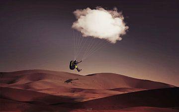 Le parachute nuageux sur Catherine Fortin