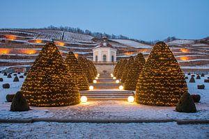 Schloss Wackerbarth in Winter