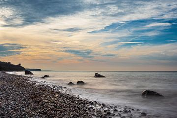 Steine an der Ostseeküste bei Elmenhorst von Rico Ködder