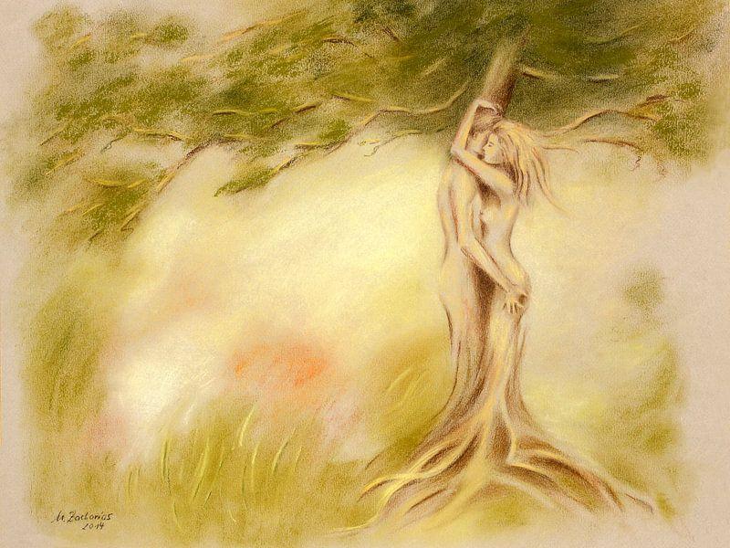 Mystischer Baum ? Bildersymbolik von Marita Zacharias