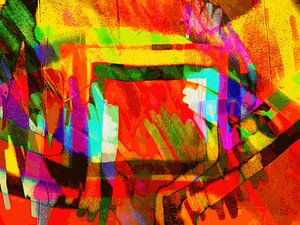 Modern, Abstract Digitaal Kunstwerk – A Dream That I've Been Dreaming
