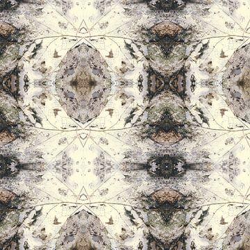 Herfstblad | kaleidoscopische compositie van Rob van der Pijll