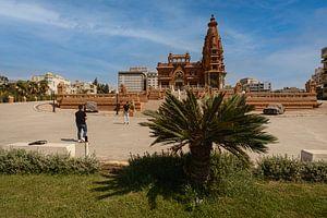 Le Palais du Baron Empain (Le Palais Hindou) au Caire, en Égypte, vue extérieure de jour sur Mohamed Abdelrazek