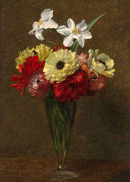 Vase mit Blumen, Henri Fantin-Latour