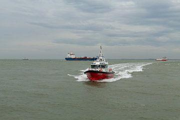 Scheepvaart Vlissingen van MSP Canvas