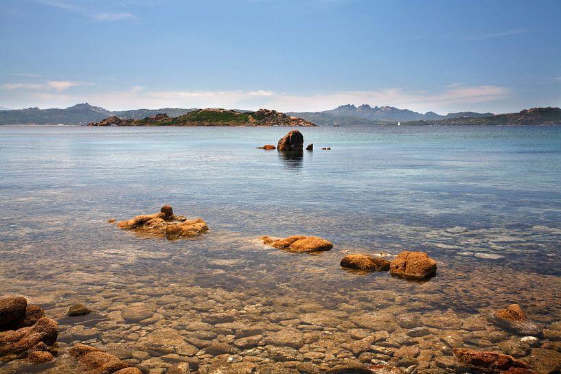 Kust van Isola Caprera, Sardinië van Mark Leeman
