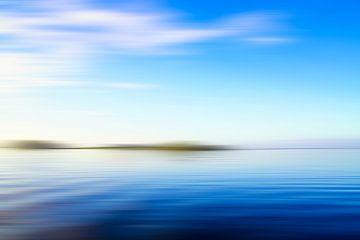 Blau Meereslandschaft
