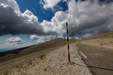 Mont Ventoux van Wim Alblas