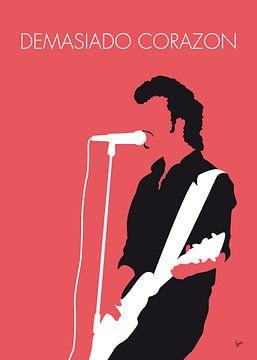 No052 MY MINK DE VILLE Minimal Music poster van
