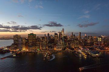 New York City vanuit de lucht van Stefan Schäfer