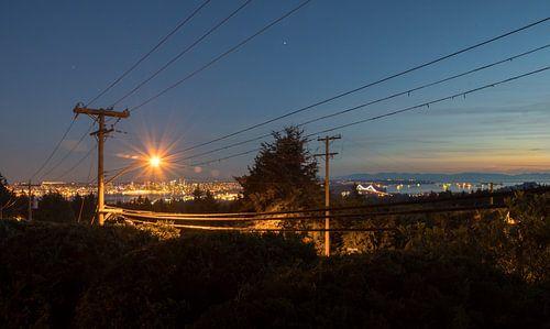 Vancouver by night van Daniel Van der Brug