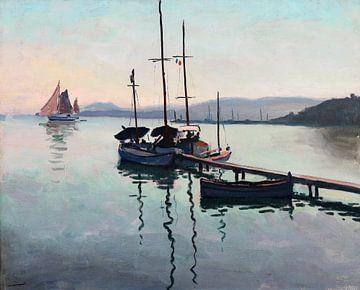 Porquerolles, Albert Marquet, 1939