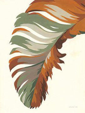 Retro groot blad I, Danhui Nai van Wild Apple