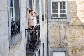 Balkonscene von Wim Roebroek
