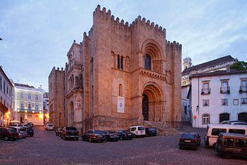 Alte Kathedrale Se Velha, Altstadt,  Coimbra, Beira Litoral, Regio Centro, Portugal