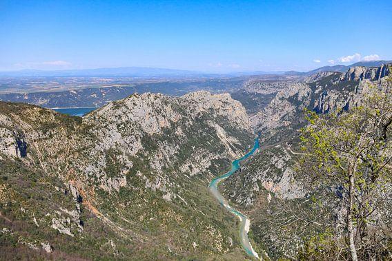 Uitzicht op de Gorges du Verdon