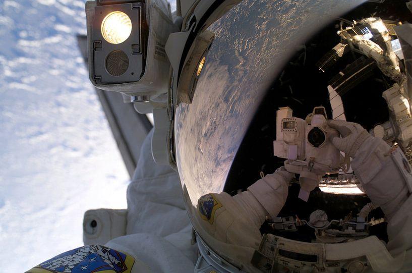 Astronaut selfie van Moondancer .