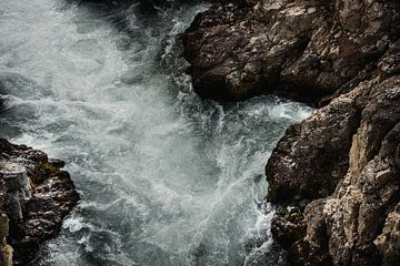Rivier stil leven van IJsland van Holly Klein Oonk