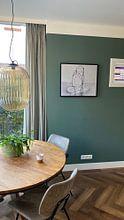 Kundenfoto: Kleiner Lotus von Kim Rijntjes, auf leinwand