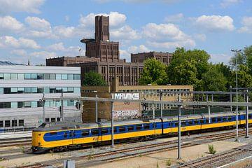 Inktpot en intercity bij Station Utrecht Centraal von In Utrecht