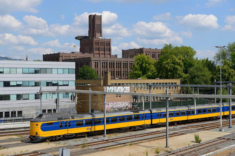 Inktpot en intercity bij Station Utrecht Centraal van In Utrecht