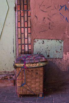 Marrakech Marokko kleurrijke straten van Lisanne Koopmans