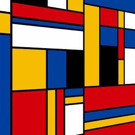Piet Mondrian-Perspektive von Marion Tenbergen