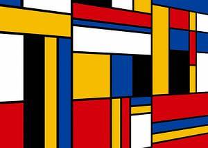 Piet Mondrian-Perspektive von