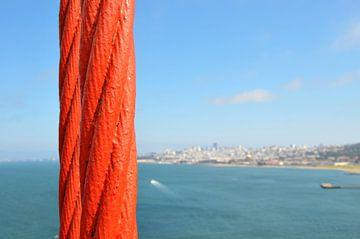 San Francisco Golden Gate Bridge von Paul van Baardwijk