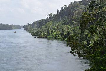 Suriname rivier van Chantal de Rooij