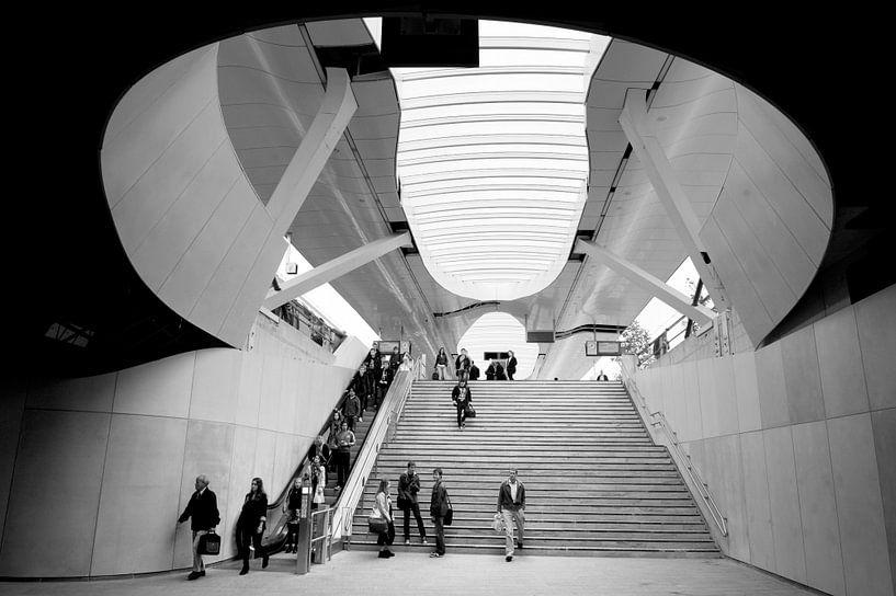 Stationshal in Arnhem CS van Herman van Ommen
