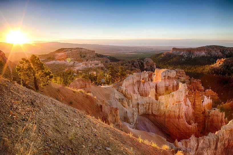 Sunrise in Bryce Canyon van Jan Schuler