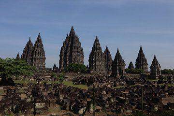Prambanan tempel van Wesley Klijnstra