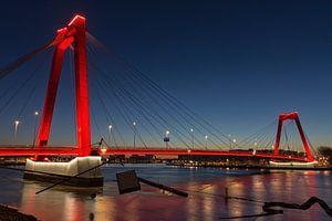 De Willemsbrug in Rotterdam van