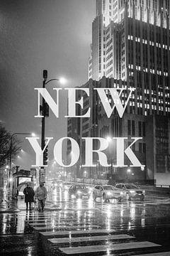 Städte im Regen: New York III von Christian Müringer